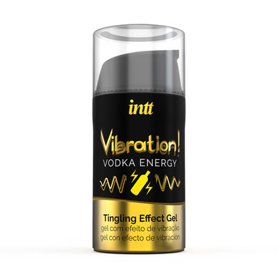 Vibration! Vodka Energy Tintelende Gel