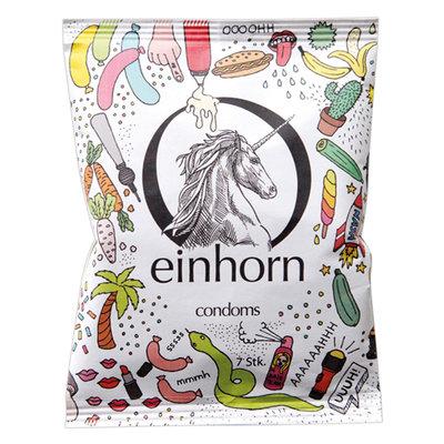 Einhorn condooms - transparant