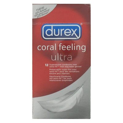 Condooms Durex Coral Feeling Ultra 12st