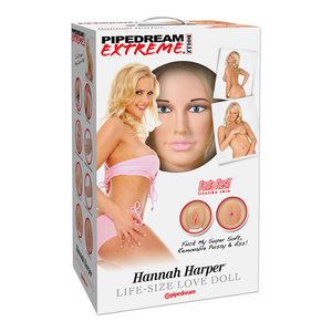 Opblaaspop blond Hannah